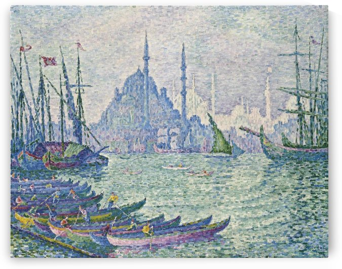 The Port of Golden Horn by Paul Signac