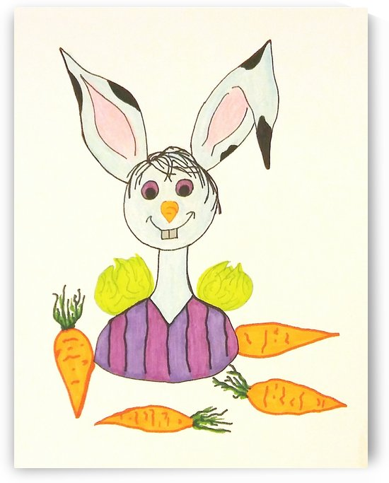Happy For Carrots by SarahJo Hawes