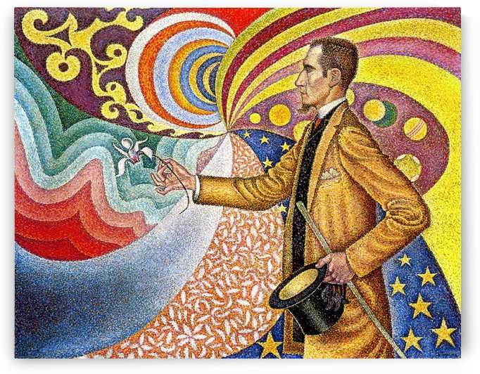 Opus 217. Against the Enamel of a Background Rhythmic with Beats and... by Paul Signac