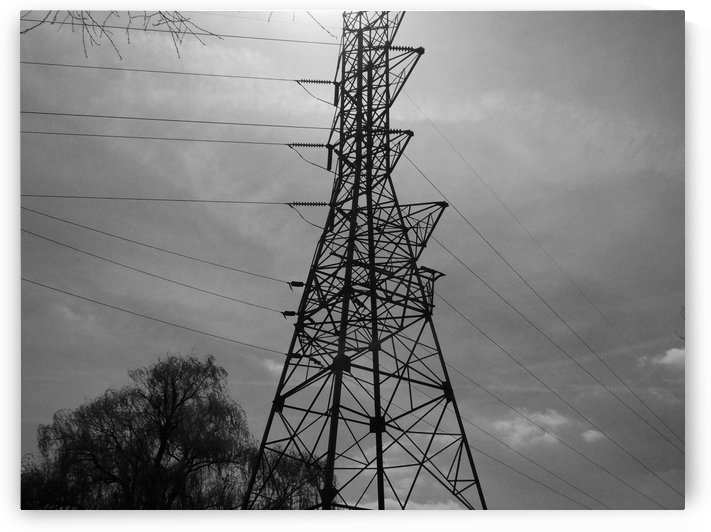 Electrical Tower by Matthew T Griggs