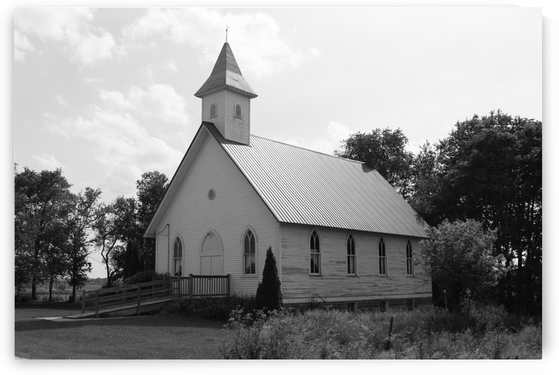 Country Church by Matthew T Griggs