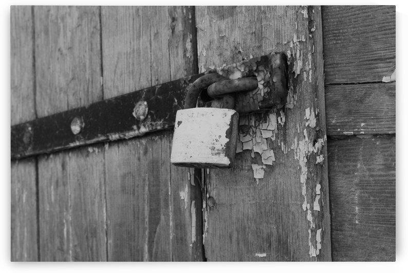 Locked Barn by Matthew T Griggs