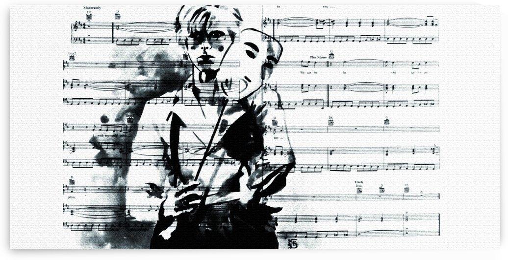 Bowie by Kateryna Bortsova