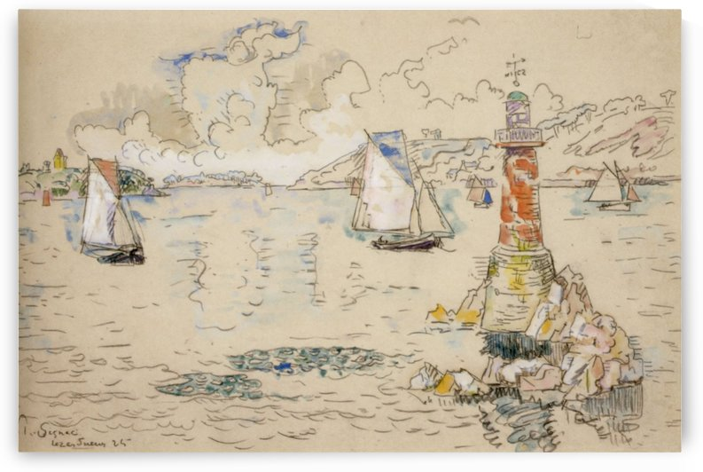 Lezardieux by Paul Signac