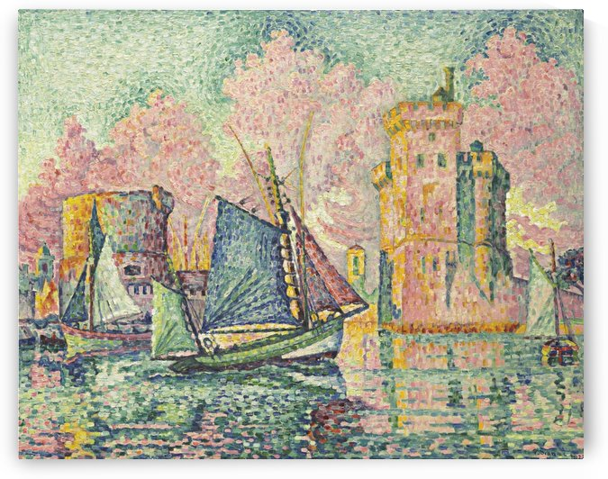 The Port of La Roshelle by Paul Signac