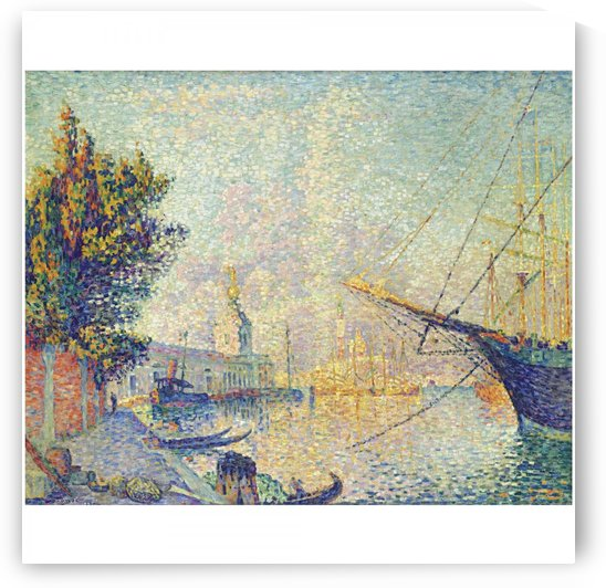 La Dogana (Venise) by Paul Signac