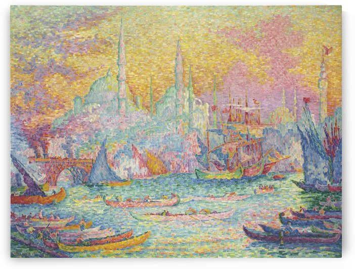 The Golden Horn by Paul Signac