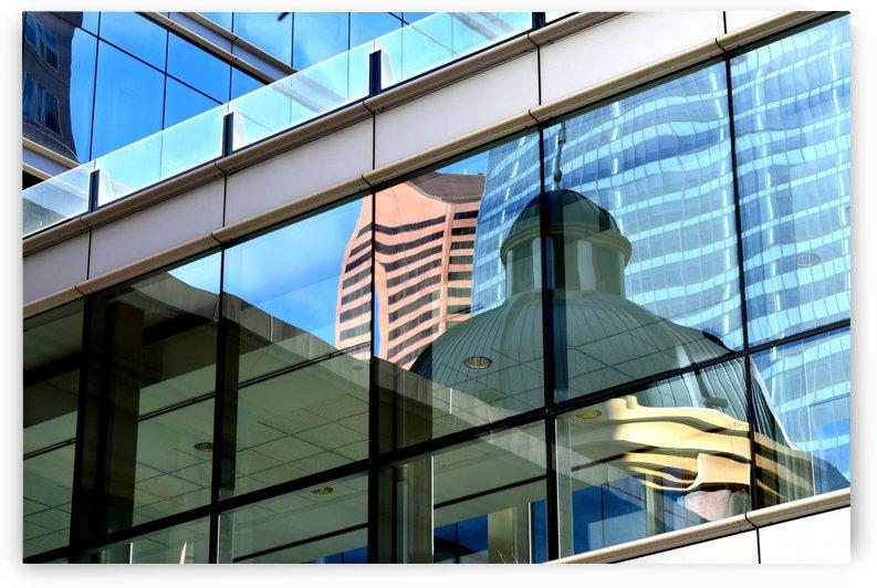 Urban Reflection 1 by Olga Osi