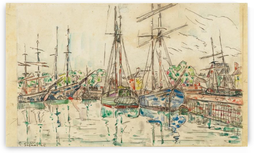 Paimpol (2) by Paul Signac