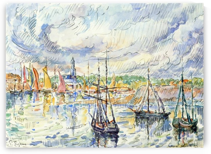 Port Luis by Paul Signac