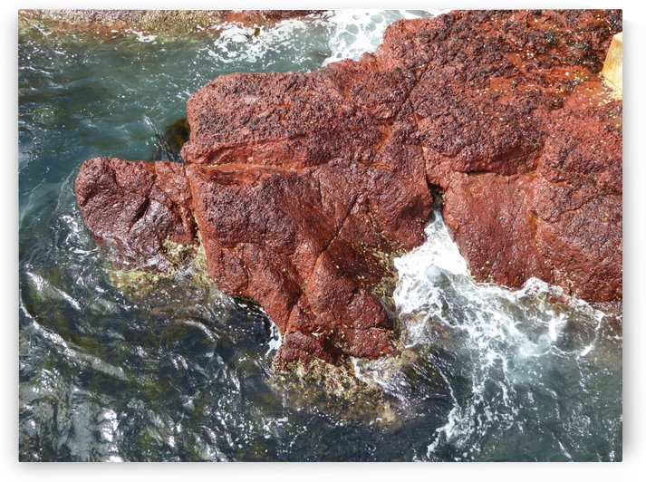 Devonian Red Rocks by Fran Woods