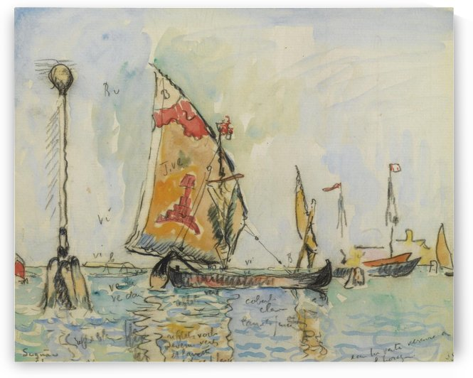 Venice, La Chioggia by Paul Signac
