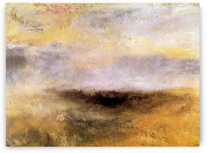 Seascape with storm by Joseph Mallord Turner by Joseph Mallord Turner