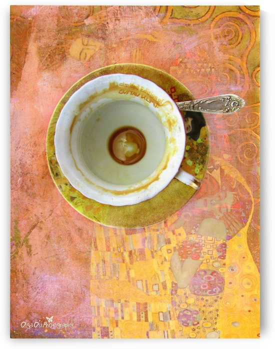 Coffee with Klimt by Olga Osi