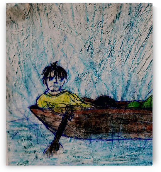 Rain Boat by djjf