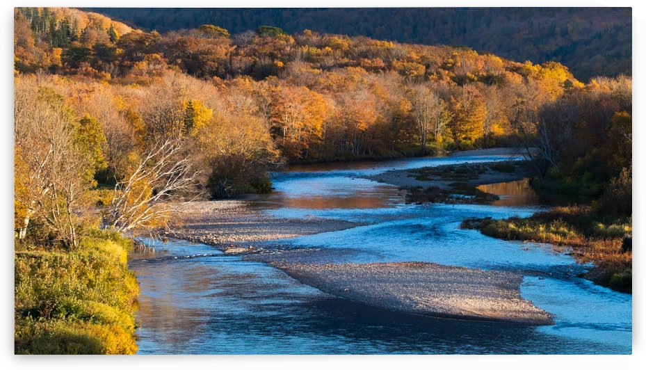 Cheticamp river Cape Breton highland national park by Jimmie Pedersen