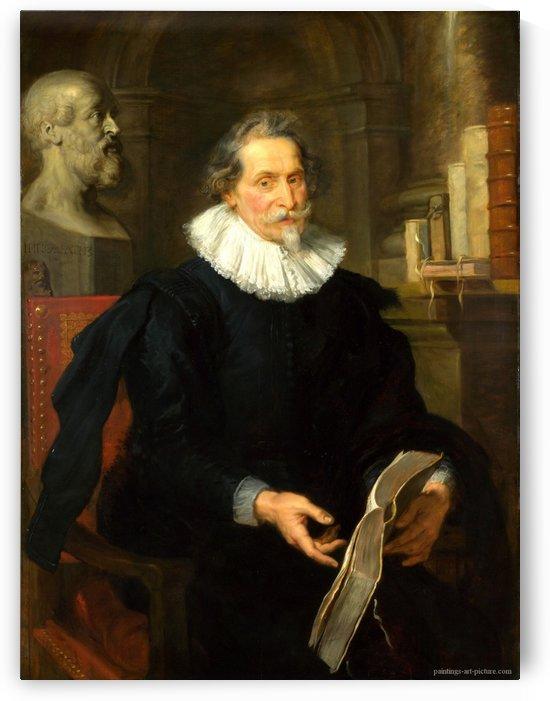 Portrait of Ludovicus Nonnius by Peter Paul Rubens