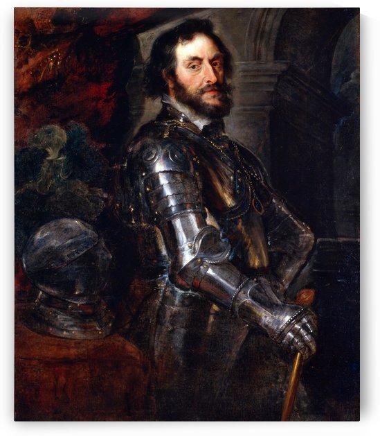 Portrait of Thomas Howard, 2nd Earl of Arundel by Peter Paul Rubens