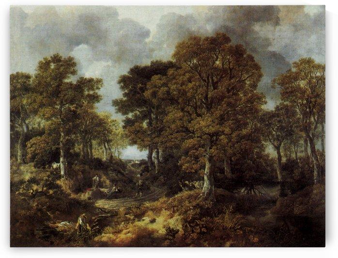 Cornard Wood, near Sudbury, Suffolk by Thomas Gainsborough