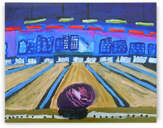 Bowling Alley. David K by The Arc of the Capital Area
