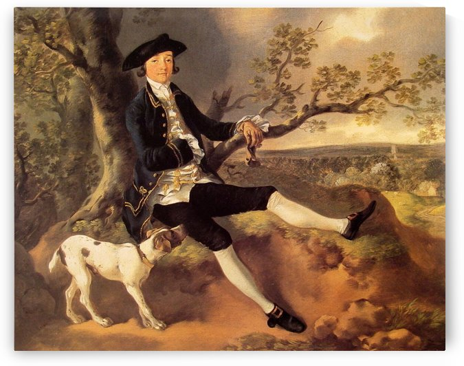John Plampin by Thomas Gainsborough