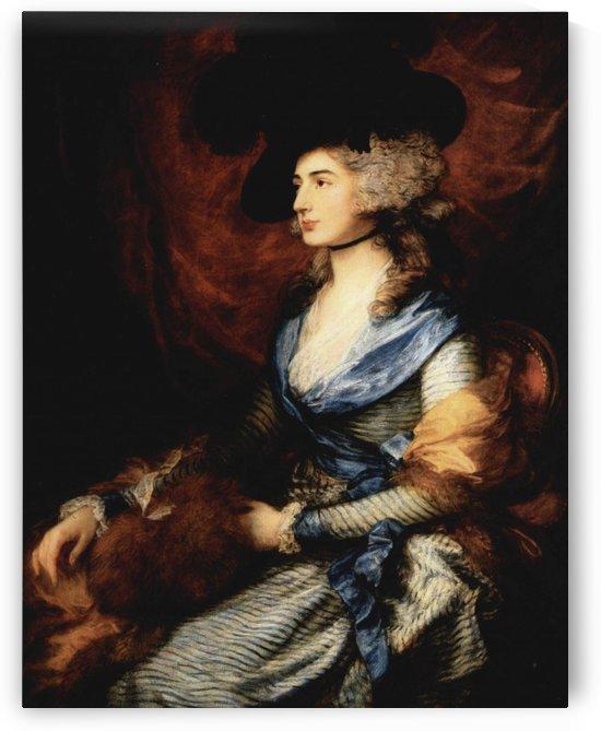 Mrs Siddons by Thomas Gainsborough