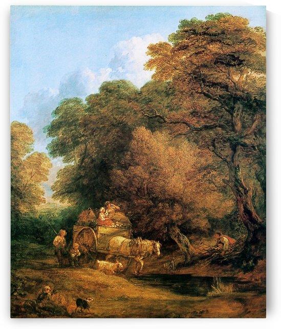 The Market Cart by Thomas Gainsborough