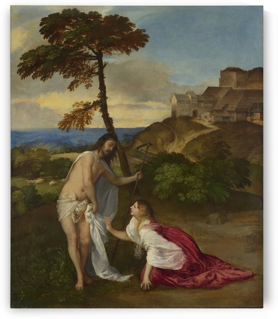 Noli me Tangere by Titian
