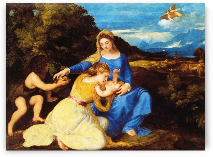 The Aldobrandini Madonna by Titian