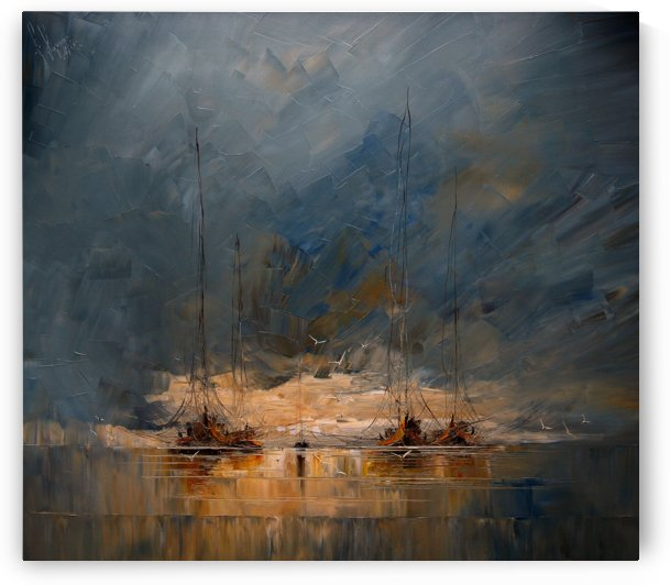 Boats by Justyna Kopania