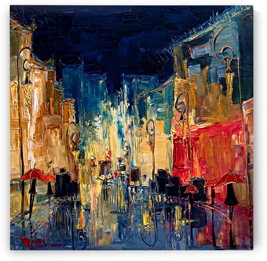 Street by Justyna Kopania