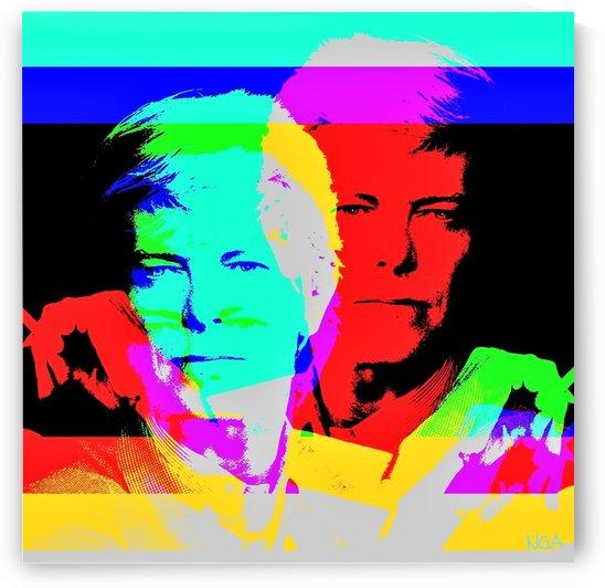 Young David Bowie - by Neil Gairn Adams by Neil Gairn Adams