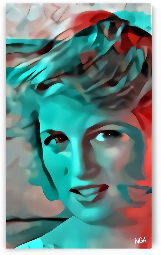 Princess Diana - by Neil Gairn Adams by Neil Gairn Adams