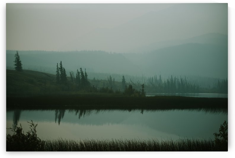 Lac brumeux by StephanieAllard