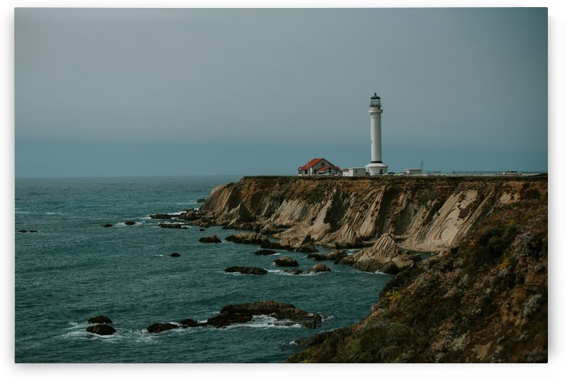 Point Arena Lighthouse California by StephanieAllard