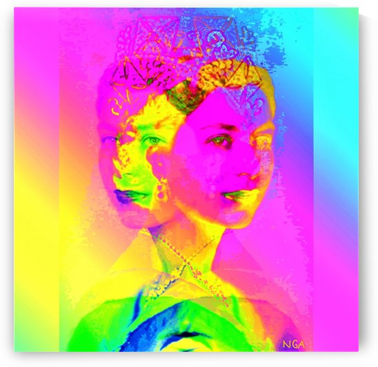 Royalty -  Queen Elizabeth by Neil Gairn Adams by Neil Gairn Adams