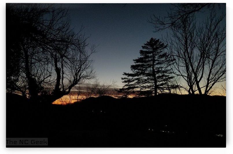 Blue Ridge Winter Sunset by The NC Geek
