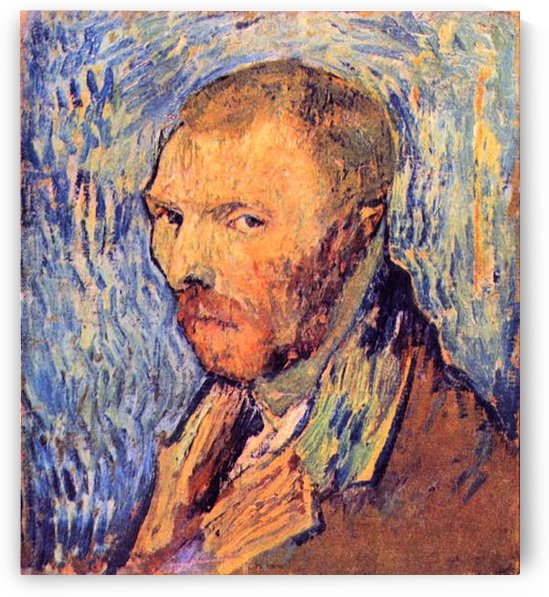 Self-Portrait #3 by Van Gogh by Van Gogh