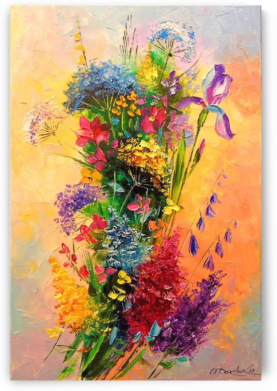 A bouquet of wild flowers by Olha Darchuk