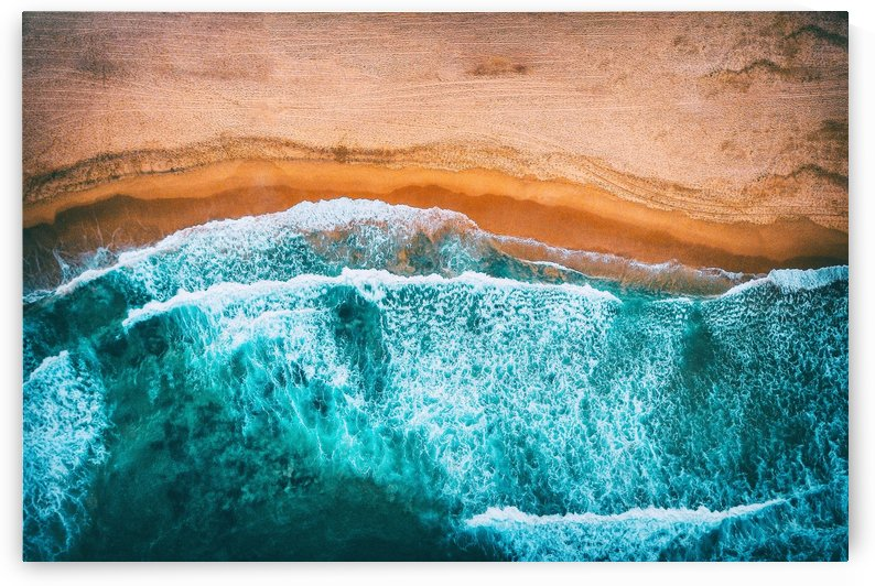 Tropical VII - Beach Waves III by Art Design Works