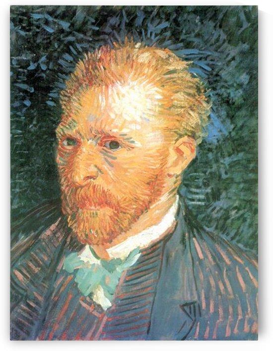Self-Portrait #4 by Van Gogh by Van Gogh