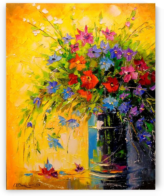 A bouquet of meadow flowers by Olha Darchuk