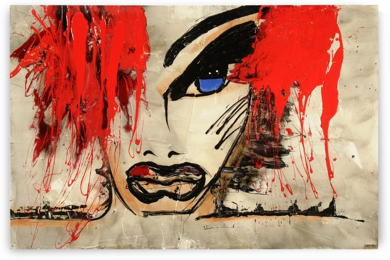 1293 - les yeux by Lisabel
