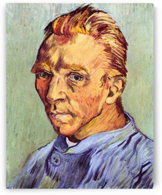 Self-Portrait #6 by Van Gogh by Van Gogh
