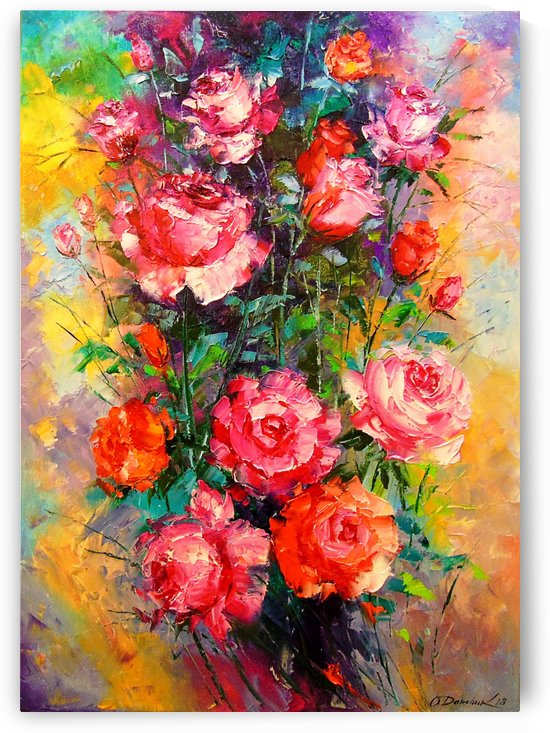 Roses by Olha Darchuk