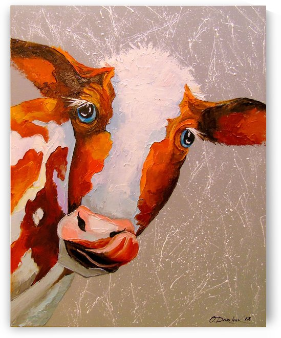 Cow by Olha Darchuk