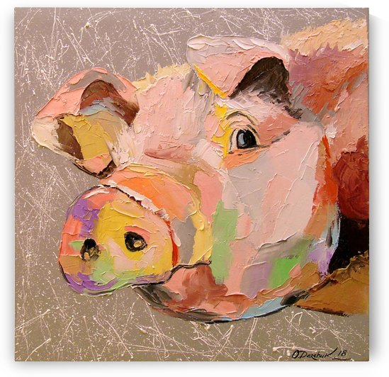 Pig by Olha Darchuk
