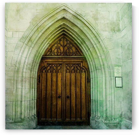 ZURICH CATHEDRAL DOOR by Nancy Calvert