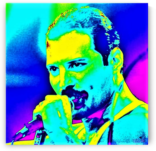 Freddy Mercury - by Neil Gairn Adams by Neil Gairn Adams