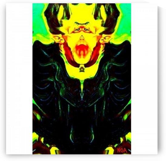 Dracula square format by Neil Gairn Adams by Neil Gairn Adams